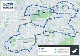 Trasa maratonu w Berlinie